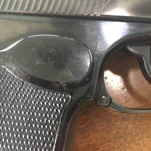 East German Makarov detail right