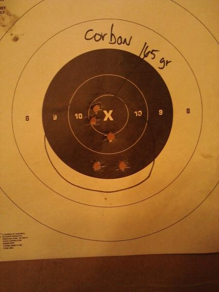 10 mm target results